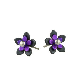 Naisz Titanium Design Flowers Black 2017349-63 - Copy - Copy - Copy