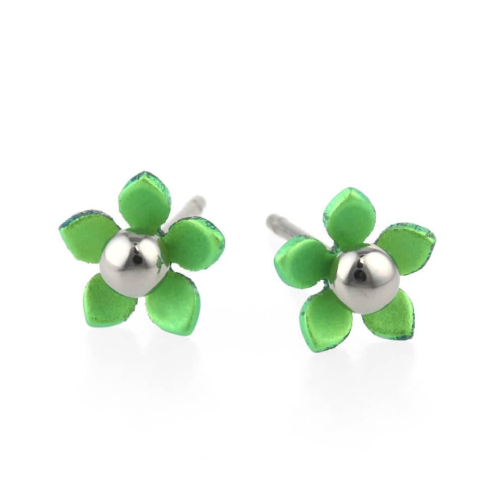 Naisz Titanium Design Flowers 5  Green 2017356-90