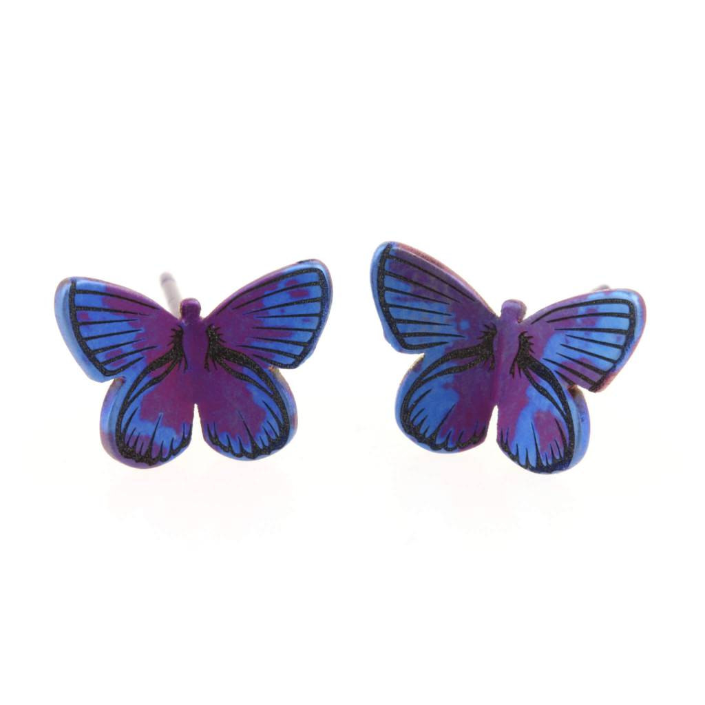 Naisz Titanium Design Butterfly M Blue 2017382 - Copy