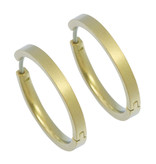 Naisz Titanium Design Earring 24mm x 3mm 2017321-52
