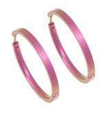 Naisz Titanium Design Earring 32mm x 3mm 2017322-63