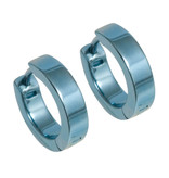 Naisz Titanium Design Earring 12mm x 4mm  2017326-30