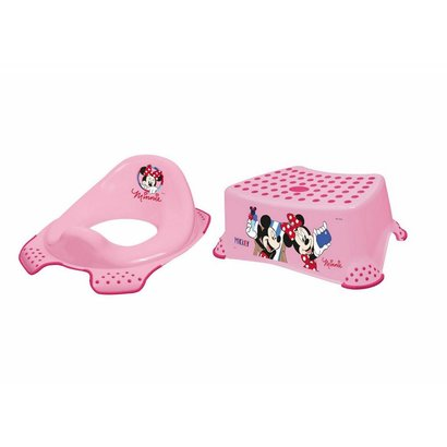 Keeeper toilettrainer en opstapje Minnie Mouse