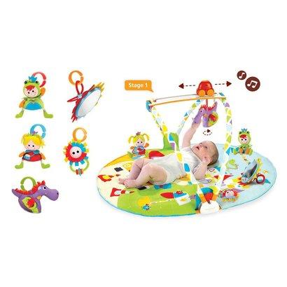 Yookidoo Gymotion Activity Playland 3 in 1 babyspeelkleed
