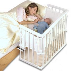 Slaap veilig samen met je baby, met een Babybay Co-slaper Mini/Midi aanschuifbedje
