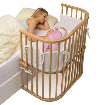 Slaap veilig samen met je baby, met een Babybay Co-slaper Boxspring aanschuifbedje