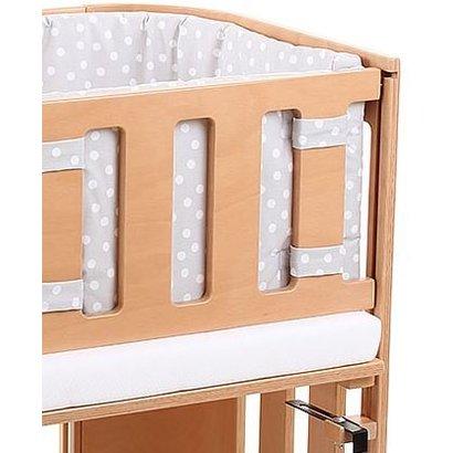Babybay Sluithekje beveiliging katoen wit voor je Babybay