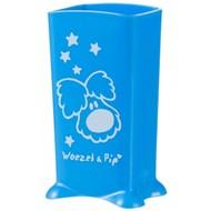 Difrax Woezel en Pip drinkpakjeshouder blauw Woezel