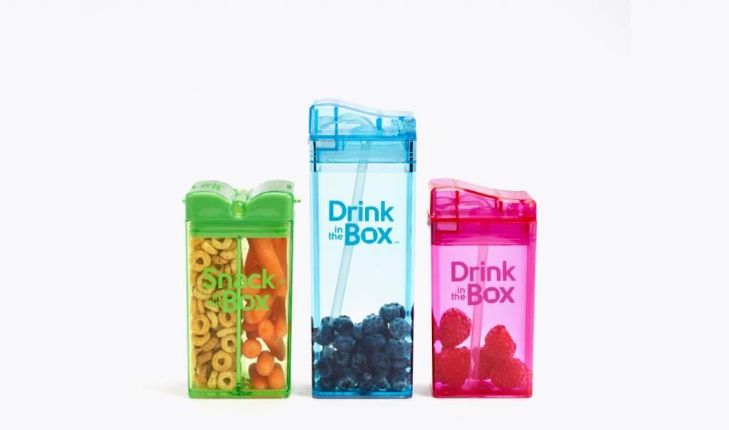 De Drink in the Box hervulbare drinkpakjes