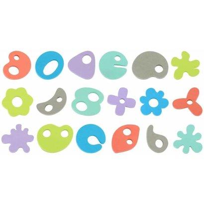 Bo Jungle B-Bath Time Foam toys 36 delig