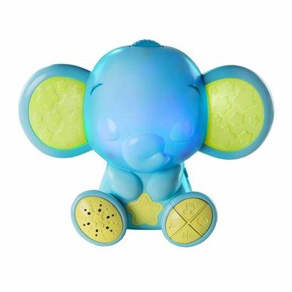 Bright Starts baby nachtlampje met muziek olifant