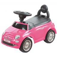 Happy Baby Loopauto Fiat 500 - roze