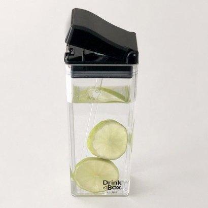 Drink in the Box drinkpakje Large - unique transparant zwart