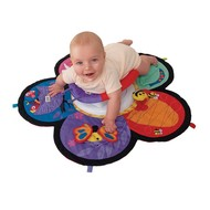 Lamaze Spin & Explore Garden Gym buik speelkleed