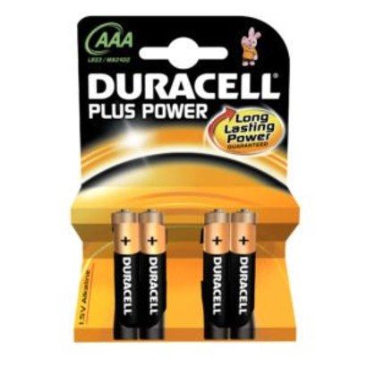 Duracell AAA Batterijen 4 stuks