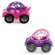 oBall Rattle and Roll cars roze/paars