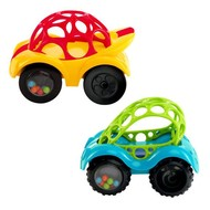 oBall Rattle and Roll cars rood en groen