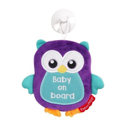 Fisher-Price Baby on board auto raamhanger