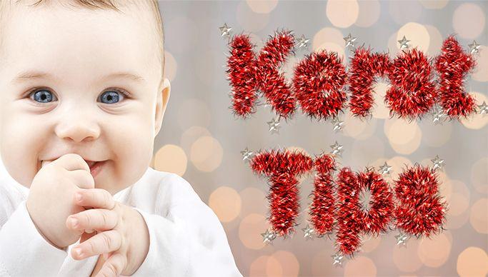 Kerstcadeaus voor baby's, peuters en kleuters
