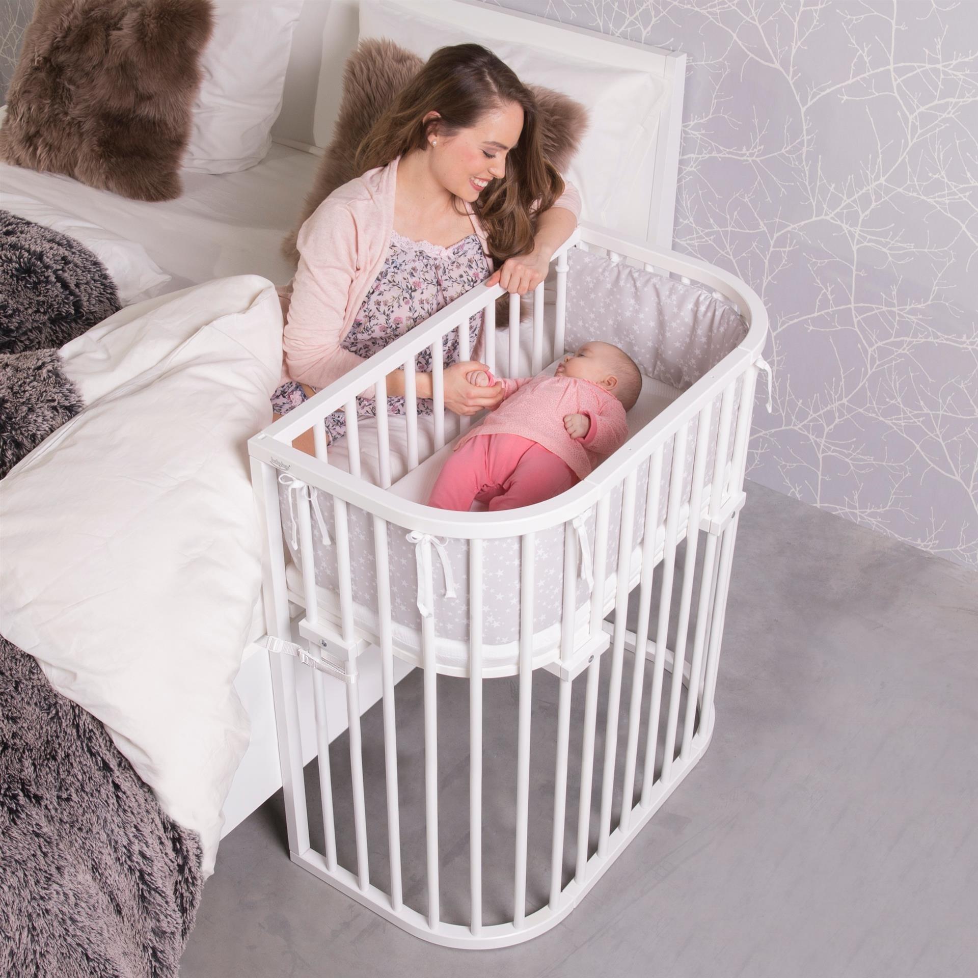 Babybay Co-slaper aanschuifbedje XXL voor tweelingen