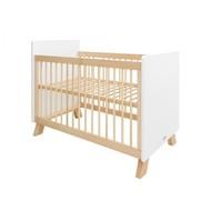 Bopita Baby Ledikant Lisa Wit/Naturel 60x120 cm