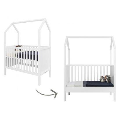 Bopita Babybed/Bedbank My First House Wit 60x120 cm