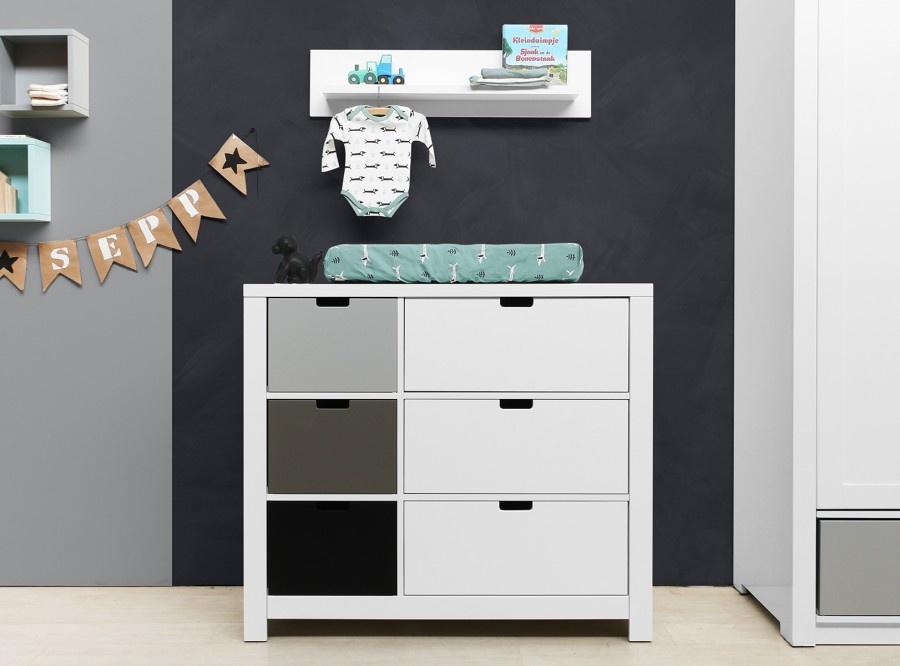 Baby commodes voor de babykamer