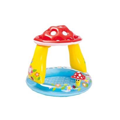 Intex Mushroom baby zwembad - paddenstoel met dakje