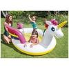 Intex Rainbow unicorn zwembad met sproeier 272x193x104 cm