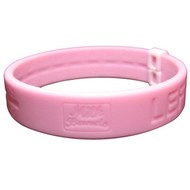 Milkband / melkbandje roze