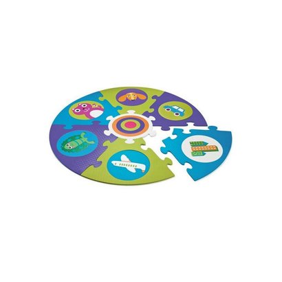 Oops Safe and Fun Playmat! City - Ronde puzzelmat