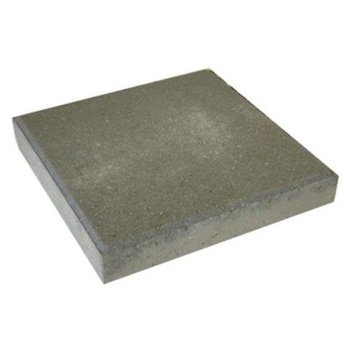 Betontegel 30x30x4,5 grijs met facet