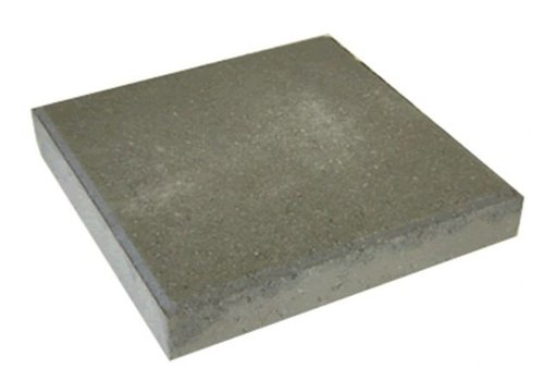Betontegel grijs 30 x 30 x 4,5 cm met facet