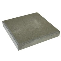 Betontegel grijs 50x50x5 cm met facet