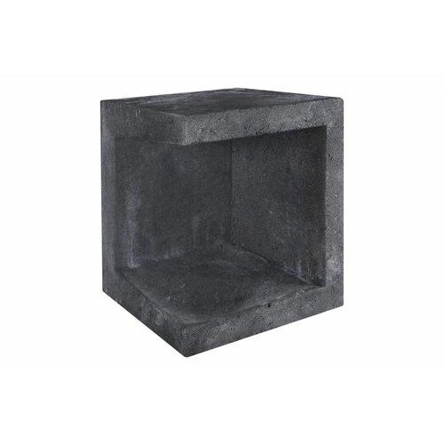 U element hoek 40x40x50 antraciet