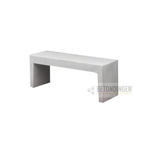 Betonnen Tuinbank wit grijs 120cm