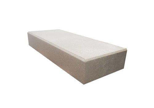 Traptreden 15x40x100cm grijs