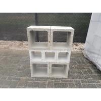 Open betonblokken 30x30x25