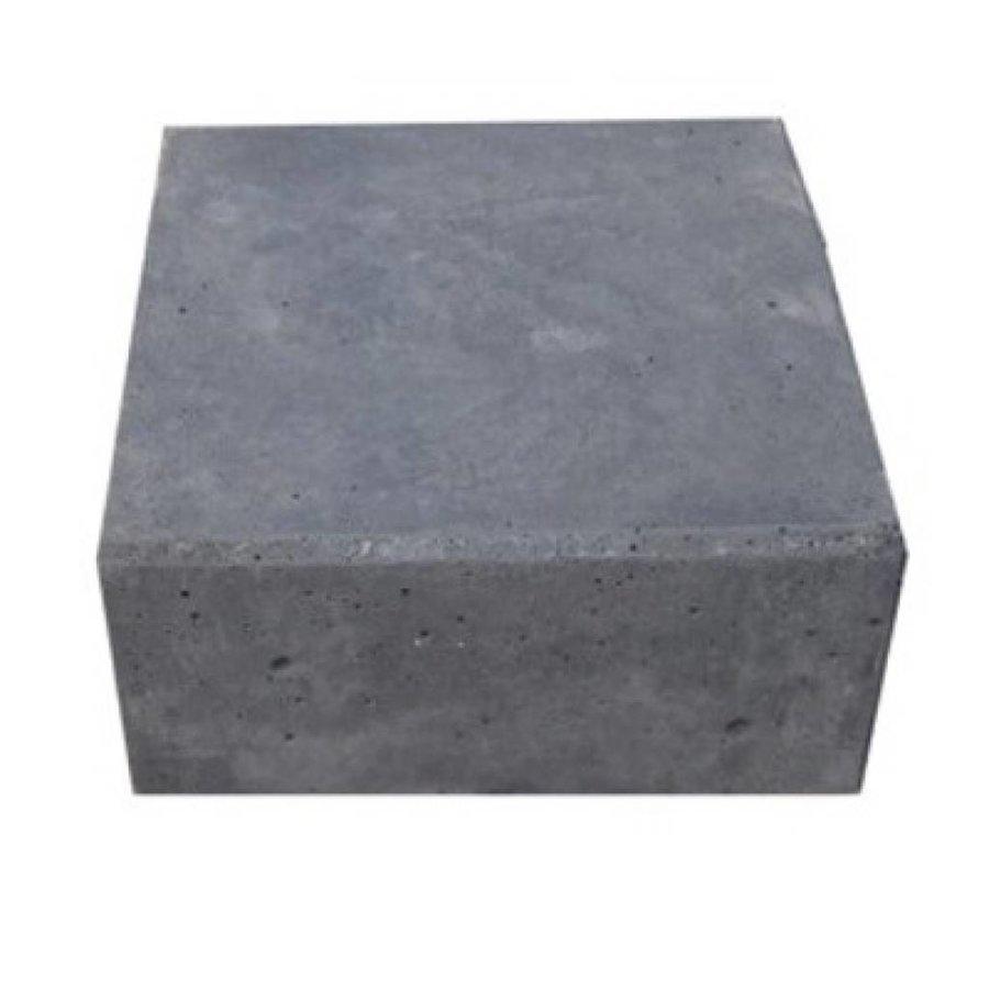 Hoeksteen antraciet 21x21x10 cm