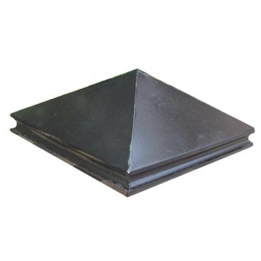 Paalmutsen met sierrand 118x118cm
