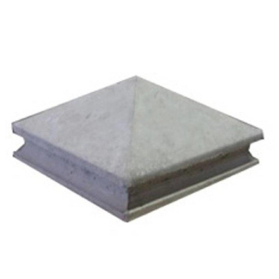Paalmutsen met sierrand 100 x 100 cm
