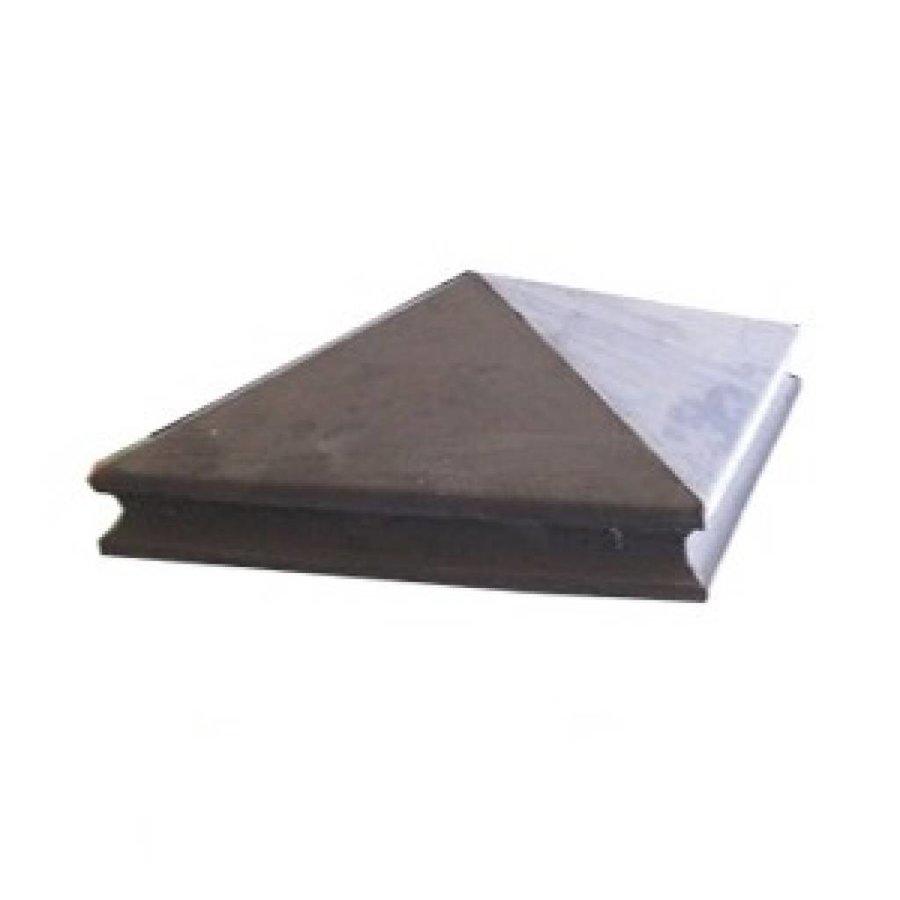 Paalmutsen met sierrand 80x80 cm