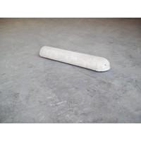varkensrug beton 1 kant rond grijs