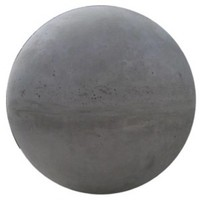 Betonnen bol grijs 14 cm