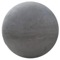 Betonnen bol Ø grijs beton 14 cm