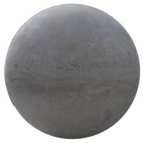 Betonnen bol grijs beton 14cm