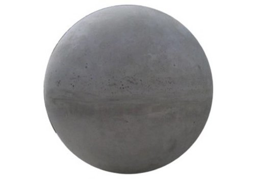 Betonnen bol grijs 40 cm
