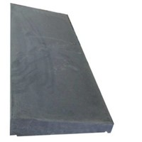 Muurafdekkers 1-zijdig, antraciet 35x100 cm