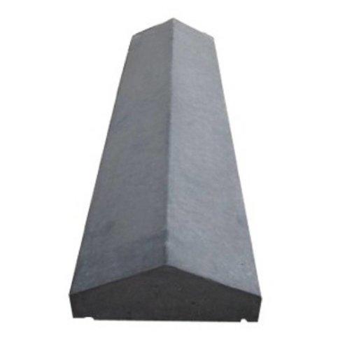 Muurafdekkers beton 2-zijdig antraciet 37x100