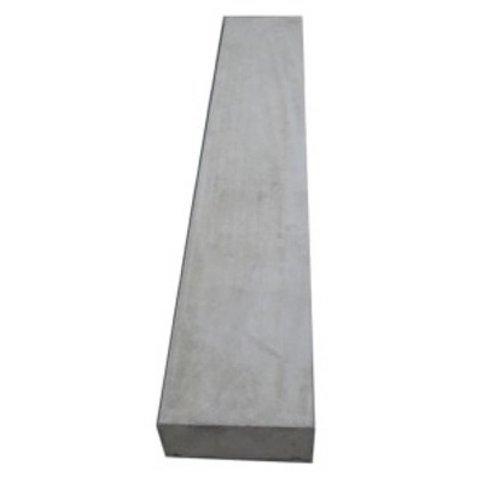 Muurafdekkers beton vlak grijs 35x100